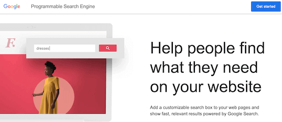 Google Programmable Search